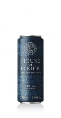 250ML ORIGINAL GIN & TONIC CAN: PACK OF 5